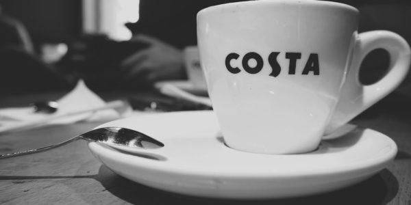 Costa Coffee cennik